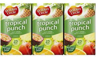 Juice Tropical 100% Popper 24 X 250Ml