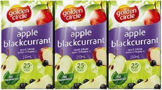 Juice Apple Blackcurrant 100% Popper 24 X 250Ml