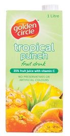Juice Tropical Punch 25% Tetra 12 X 1Lt
