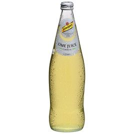 CORDIAL LIME JUICE 750ML SCHWEPPES