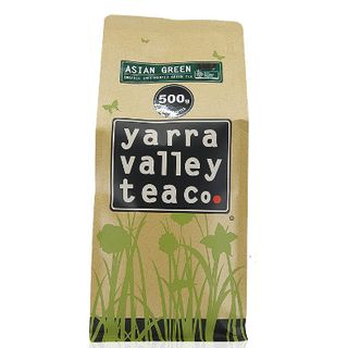 Loose Leaf Tea Caddy Refill Organic Asian Green 500G Yarra Valley