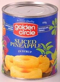 Pineapple Slices 850G In Syrup G/C  0461