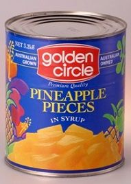 Pineapple Pieces In Syrup G/C A10 (0479)