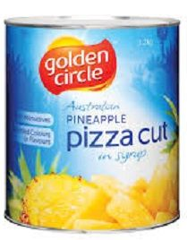 Pineapple Pizza Cuts In Syrup G/C A10