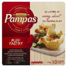 Puff Pastry 1.6Kg Pampas