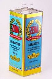Vegetable Oil 4Ltr Tin Zena
