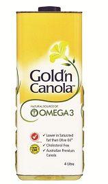 Oil Canola Gold N Canola  4Ltr