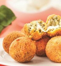 ARANCINI PARTY SPINACH 500G X 12 ARANCINI ART