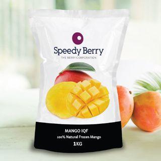Mango Cheeks Frozen 1Kg Speedyberry