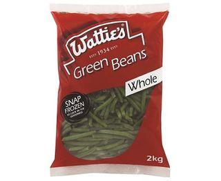 WHOLE GREEN BEANS 2KG WATTIES