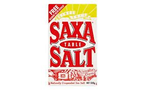 SALT TABLE SAXA BOX 500GR
