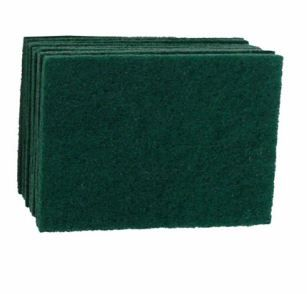 SCOURER PAD LARGE GREEN (23CM X 15CM) 10PK