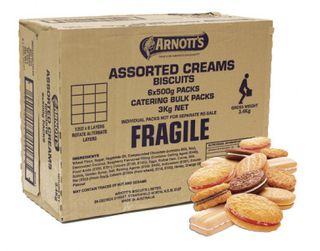 ASSORTED CREAM BISCUITS 3KG ARNOTTS