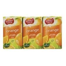 Juice Orange Burst 25% Popper 24 X 250Ml