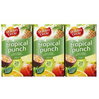 Juice Tropical Punch 25% Popper 24 X 250Ml