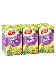 Juice Golden Pash 25% Popper 24 X 250Ml