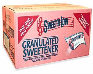 Sugar Sweet & Low Satchets 1000S Ctn
