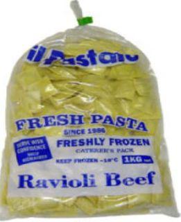 Beef Ravioli Frozen  Pasta 1Kg Il Pastaio
