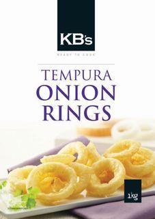 ONION RINGS TEMPURA 1KG KAILSBROS
