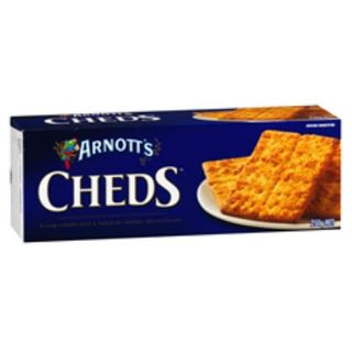 CRACKERS CHEDS 250G