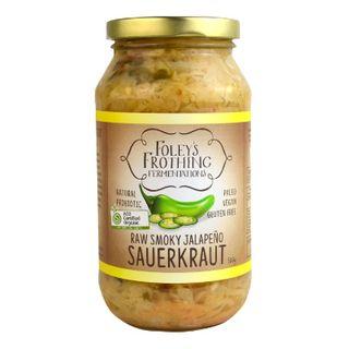 Raw Organic Jalapeno Kraut 500g