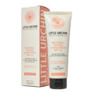 Little Urchin Natural Sunscreen - TINTED 100g