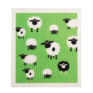 Eco Dish Cloth - SHEEP x 12