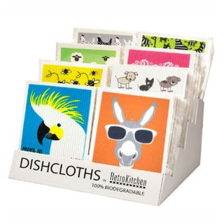 Eco Dish Cloth Counter Display Unit (holds 12 x ea