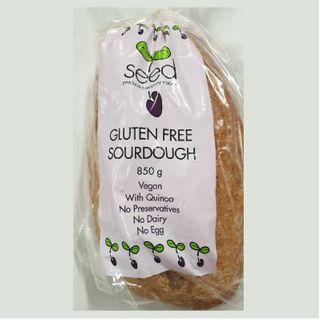 Seed Gluten Free Sourdough (FROZEN UNSLICED)