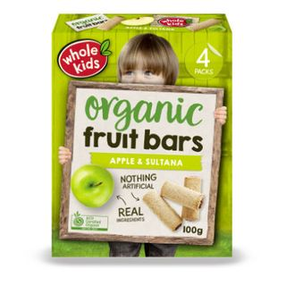 Organic Apple & Sultana Bar 6PK Multipack 100g