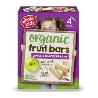 Organic Apple & Blackcurrant Bar 6PK Multipack 100