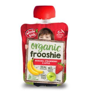 Organic Frooshie - Strawberry and Banana 90g x 6