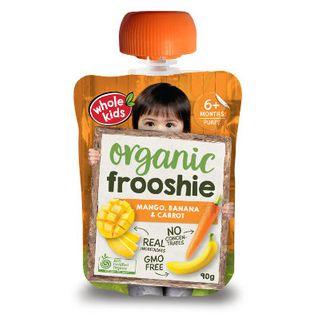 Organic Frooshie - Mango Banana & Carrot 90g x 6