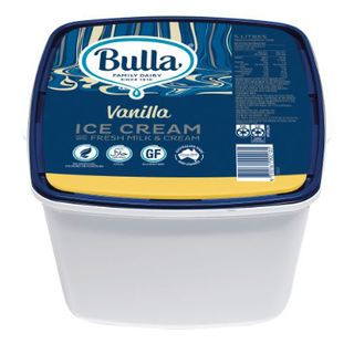 ICE CREAM VANILLA 5LT BULLA