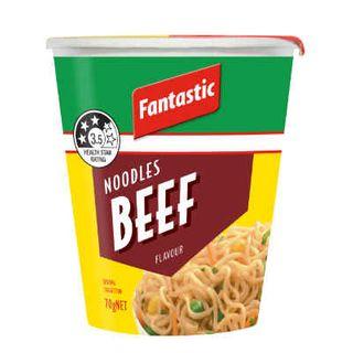 Instant Beef Noodles 70Gmx12 Fantastic