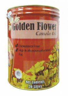 CANOLA OIL 20LTR GOLDEN FLOWER