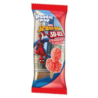 Streets Paddle Pop Spiderman 3D Ice 24S