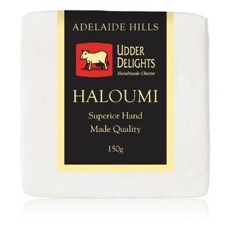 UDDER DELIGHTS HALOUMI 150G