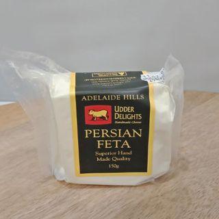 UDDER DELIGHTS PERSIAN FETA 150G