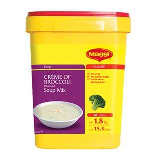 Maggi Creme Of Broccoli Soup 1.8Kg