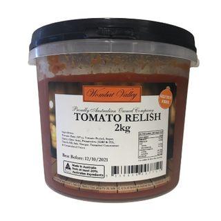 Relish Tomato 2Kg Wombat