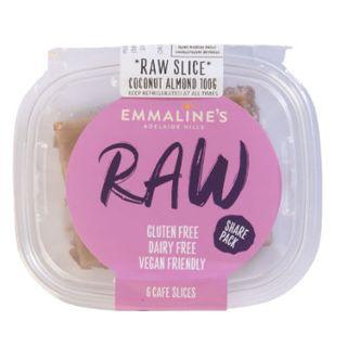 Raw Coconutalmond Slice 100Gx8