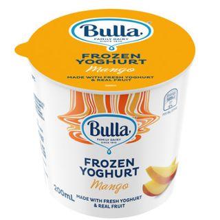 Yoghurt Mango Frozen 200mlx36 Bulla