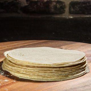 Tortillas 6 inch White Corn Frozen 12 pk x 24