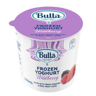 Yoghurt Wildberry Frozen 200mlx36 Bulla
