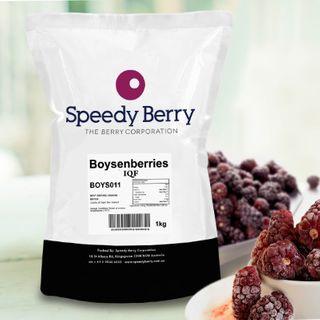 Boysenberries Iqf Fruit 1Kg Speediberry