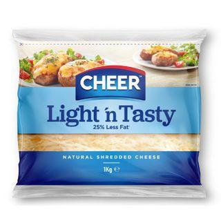 Cheese Shredded Lite & Tasty 1kg Cheer