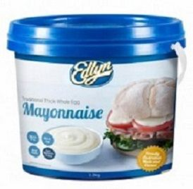 Mayonnaise Thick Whole Egg 2.2Kg Edlyn