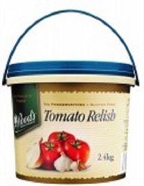 RELISH TOMATO 2.4KG WOODS