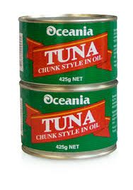 Tuna Chunks In Oil 425G Oceania